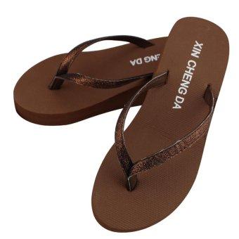 Women Casual Fashion Flip Flops Outdoor Slippers Summer Platform Shoes - intl