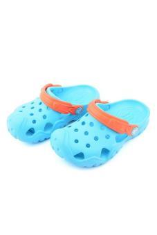 Xăng đan & Dép bé trai Crocs Swiftwater Clog K Electric Blue/Tangerine 202607-4GQ (Xanh dương)