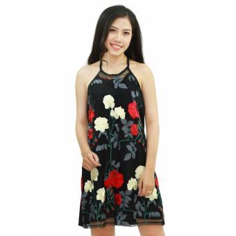 Váy yếm hoa
