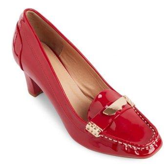 Giày cao gót LARA HMF802R (Đỏ)