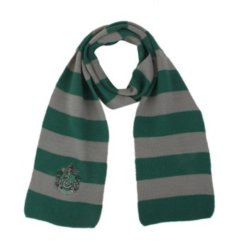 Harry Potter Slytherin Cosplay Knit Wool Costume Scarf Wrap - Intl