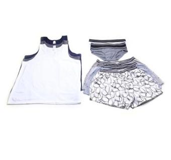 Combo Quần Nam ( 3 brief+3 short+3 T shirt )