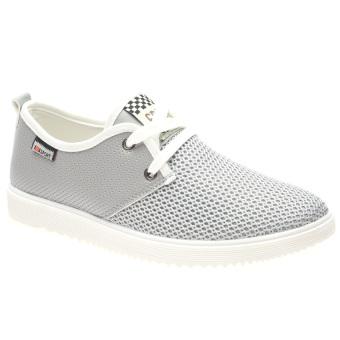Giày Sneaker Thể Thao Nam Hnp Gn033 (Xám)
