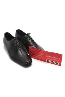 Giày tây nam công sở da thật Minh Tâm MT405 (Đen)