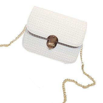 Women leather Shoulder Bag Satchel Handbag Retro Messenger Bag - intl