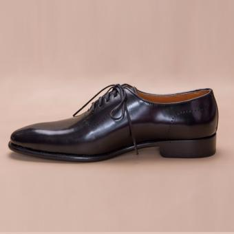 Giày Patina Black Wholecut Oxford - PCMFWLB056