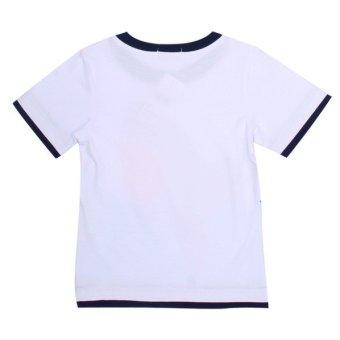 Áo thun tay ngắn bé trai – BT60103 (Trắng)