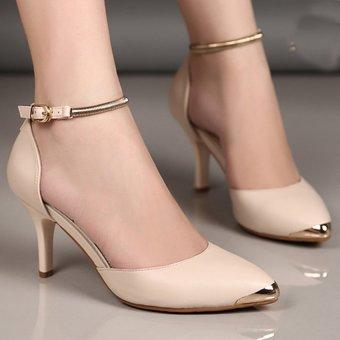 Giày cao gót CG99 (Kem)