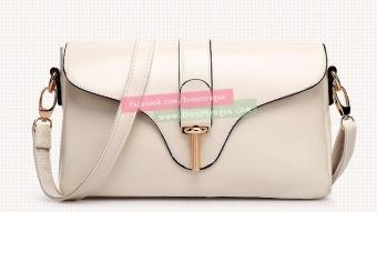 Túi đeo chéo nữ Global Link-BF010W (Trắng)