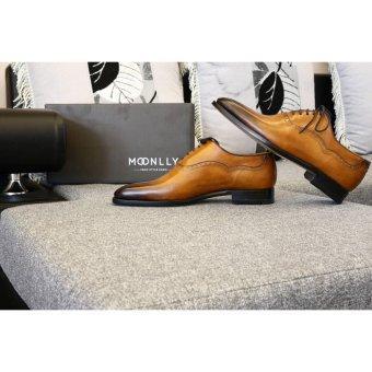 Giày da nam công sở đế da Goodyear