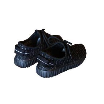 Giày Trẻ Em Nhẹ GTE1 (Đen)