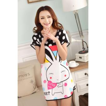 Đầm Ngủ Dễ Thương Thỏ Con - MS217