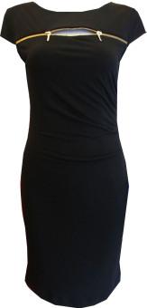 Đầm Body Dây Kéo Ngực D262 B (Đen)
