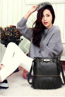 Túi nữ đeo chéo da thật Đồ Da Thành Long 205856-1 (Đen)