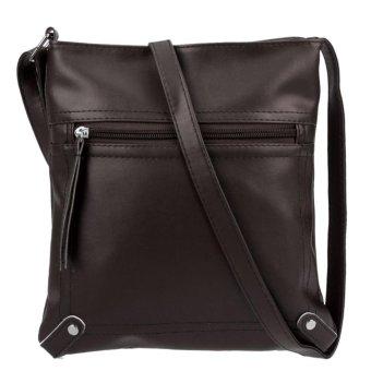Spring Summer Women PU Leather Mini Messenger Bag Shoulder Crossbody Bag - intl