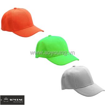 Bộ 3 Mũ Nón Lưỡi Trai Thể Thao Nam Nữ 3BBP1 LTGR OR G