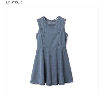Áo Đầm Lime Orange Lo6110151 (Xám Đậm)