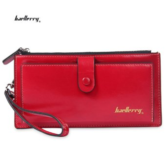 Baellerry Wrist Wallet Clutch Card Holder(Red) - intl