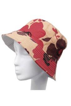 HKS Bucket Floral Hunting Hat (Multicolor) - intl