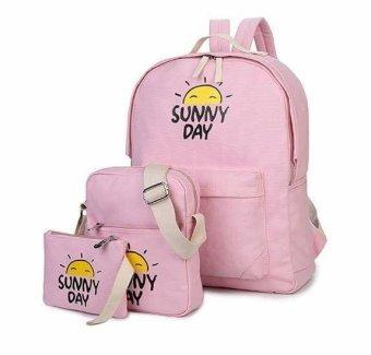 Bộ 3 Sunny Day Hoàn Hảo OSD02 (Hồng Phấn)