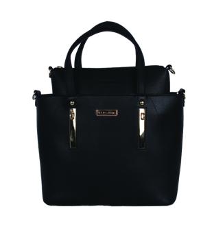 Bộ túi xách da Verchini 3977 (Đen)