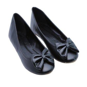 Giày búp bê Dolly & Polly DL2006 (Đen mịn)