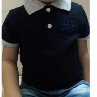 Áo thun bé trai thời trang - Xanh đen