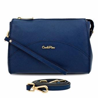 Ví nữ vòng tay - pouch Carlo Rimo 0303331-701-13 (màu xanh dương)