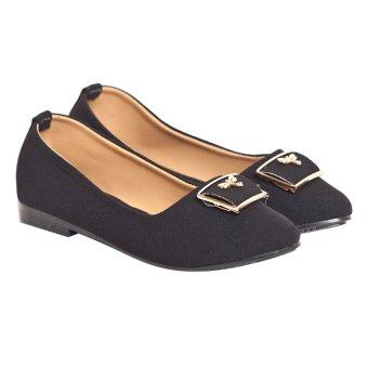 Giày búp bê Sarisiu XT737 (Đen)