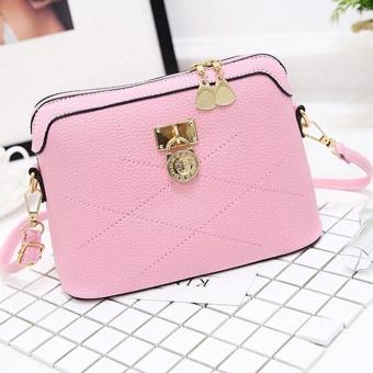 Women Bag Soft Leather Messenger Bags Handbags Crossbody Ladies Shoulder Bag PK - intl