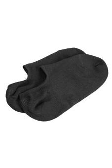 Concise Bamboo Fiber Socks Cotton Black (Intl)