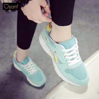 Giày Sneaker Nữ Cá Tính OSANT - SN008 (XANH)