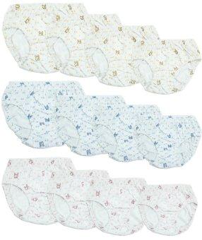 Bộ 12 quần lót chun bồng Việt Nam - LyBi Shop