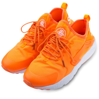 Male Patchwork Light Casual Mesh Sports Shoes (Orange) - intl
