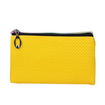 Women Fashion Leather Wallet Yellow