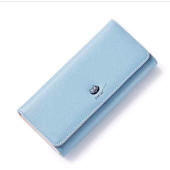 Bóp ví nữ thời trang Weichan chính hãng A511-54 Win Win Shop (Xanh lam nhạt)
