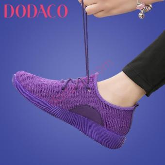 Giày Sneaker Nữ Thời Trang DODACO DDC1869 (Tím)