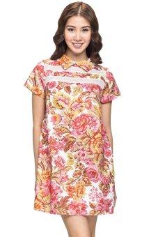 Đầm suông họa tiết floral Love