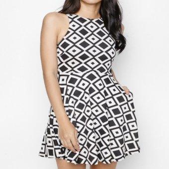 Đầm khoét vai MINT Basic (Trắng)