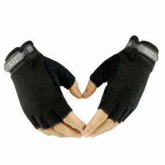 Găng tay cụt ngón 511 (đen)