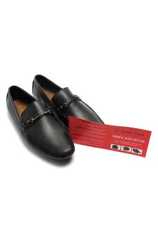 Giày mọi nam da thật Minh Tâm MT522 (Đen)
