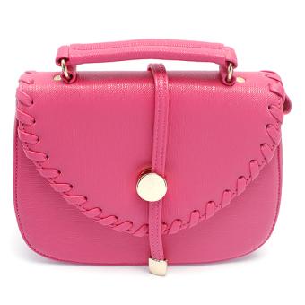 Túi nữ mini Happy F MS.131.3 (Hồng đậm)