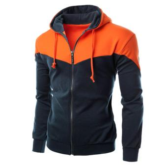 Áo khoác nỉ phối màu thời trang - LD206