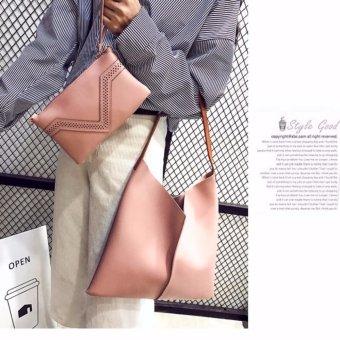 Bộ túi xách tặng kèm ví SPH-SETQUEEN03(HỒNG)