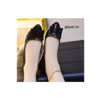 Giày búp bê MYS tam giác MN da bóng