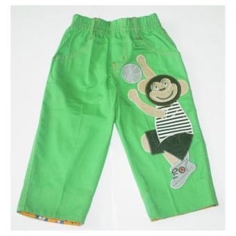 Quần dài kaki bé trai 1-4 tuổi 12kg đến 27kgTri Lan QDBT007 (Xanh Lá)