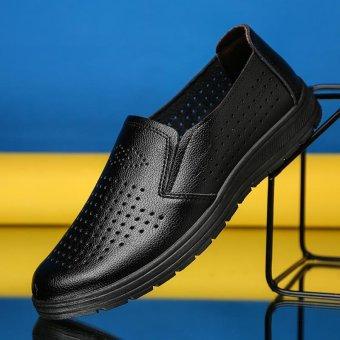2017 Summer Breathable Men's Shoes Business Dress Shoes for Men - intl