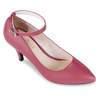 Giày gót nhọn 5f Sarisiu SRS845 (Đỏ)