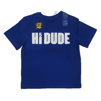 Áo thun bé trai HIDUDE (Xanh Dương)