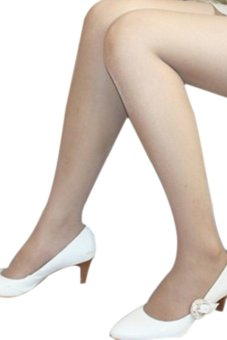 Bluelans Women's Full Foot Thin Semi Sheer Tights Pantyhose Stockings Panties Nude (Intl)